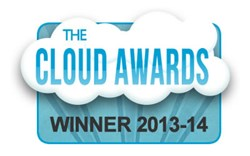HRBoss win Best Software-as-a-Service at international Cloud Awards 2014