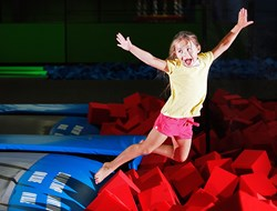 Bounce! Trampoline Sports offers trampoline park franchise