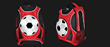soccer backpack, sports backpack