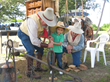 San Jacinto Day Festival - chuck wagon for kids entertainment