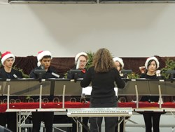 The Highland Hall Waldorf School Handbell Choir Winter Concert - Highland Hall, a private school in Northridge, California