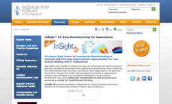 Association Forum Benchmarking Platform