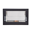 BioFlame argento bio ethanol ventless fireplace