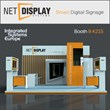 See Smart Digital Signage by Net Display Systems in Action at ISE 2014
