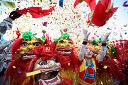 <LA Flower District California Flower Mall rings in the Lunar New Year >