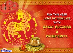 Gong Xi Fa Cai! It's time to ring in another Chinese New Year! Reach out to your friends, family and loved ones on this joyous occasion