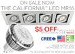 American-made LED MR16 Lamp on Sale Now at LEDWaves.com