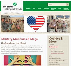 USSelfStorageLocator.com sends Girl Scout Cookies to the Military