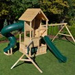 New Canterbury Line of Wooden Swing Sets by Triumph Play Systems