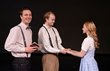 Actors in Our Town, appearing at Salt Lake Community College's Grand Theatre