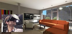 Oculus Rift provides a deeply immersive way of exploring a real estate development as a marketing and visualization technology