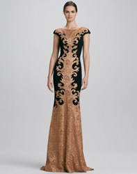Theia Front Baroque Gown