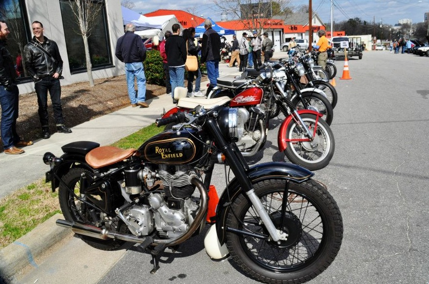 Classic Cars And Vintage Motorcycles On Display Feb At Ray
