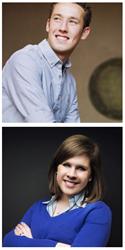 Jamie Cartwright and Laura Sheptoski