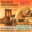 Self-directed IRA Conference: Navigate Alternative Assets will be held on March 24-25, 2014 in DC by Retirement Industry Trust Association (RITA)