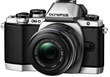 Olympus E-M10 Mirrorless Micro Four Thirds Digital Camera with 14-42mm Lens Silver