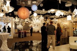 Schonbek/Swarovksi Crystal Gallery at Dulles Electric Supply