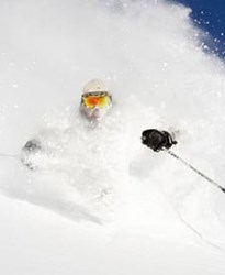 A powder shot like this is what will drive thousands of people to lake Tahoe this weekend