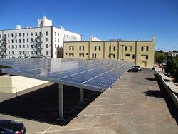 SunWize Completes Solar Carports for Cochise County