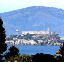 View of Alcatraz Island