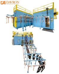 DTI-1200 Overhead Monorail Conveyor Oven