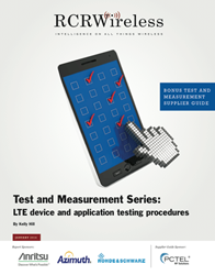LTE Device & Application Testing