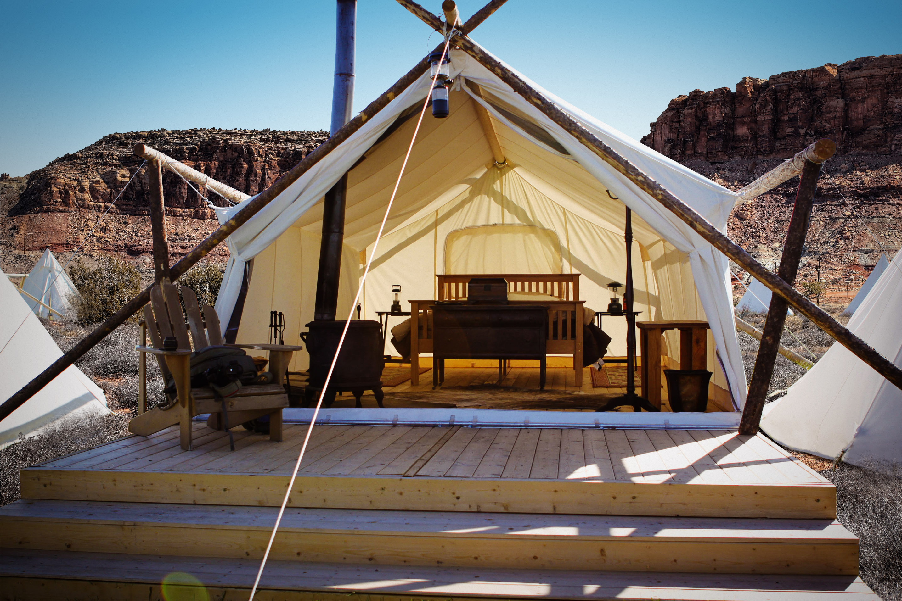 Introducing Utah S First Glamping Destination