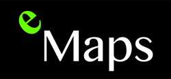 eMaps from Vision-e Logo