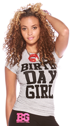 This shirt is one of the best gifts for her whether it is her Quinceanera, Bat Mitzvah, Sweet Sixteen, 21st or 18th birthday party. A girls party supplies must!