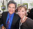Forbes Riley and Dr. Oz discuss heath and fitness at Oprah WInfrey's event in Atlanta