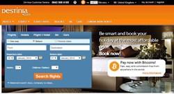 Destinia Home Page