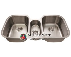 The 4521 Triple Bowl Sink From MR Direct