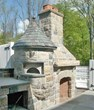 Rumford Fireplace and Clay Oven