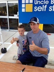 Sean lee visits Uncle Bob's Self Storage