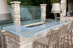 THINKGLASS Introduces New Glass Creations Designed For Outdoor Living