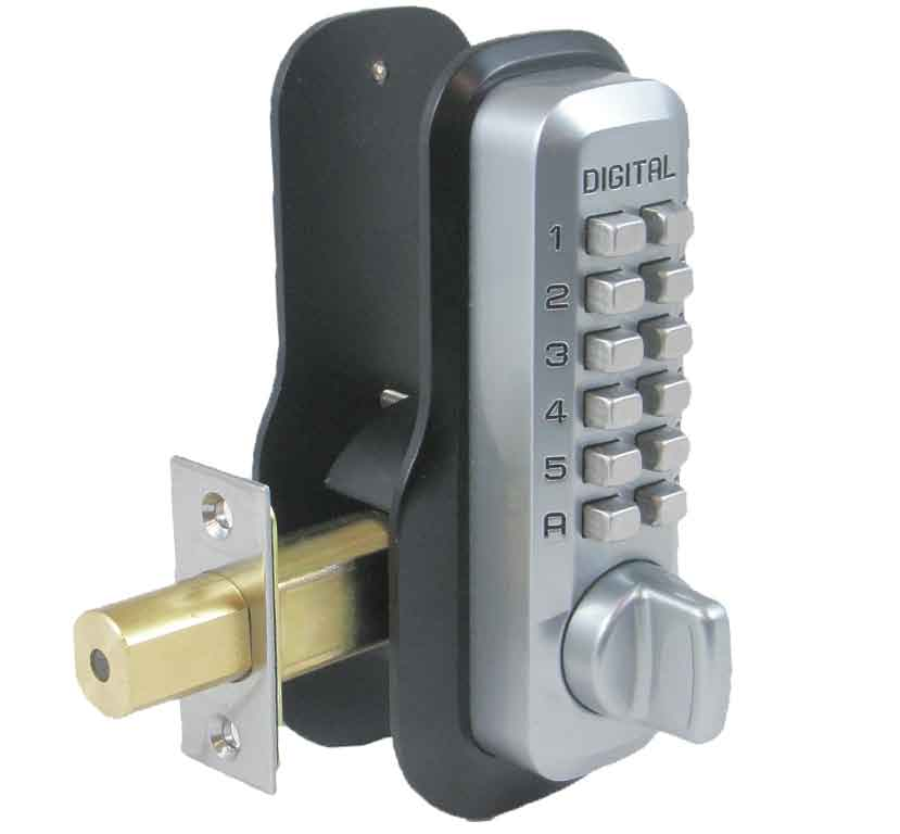 Deadbolt Security, No Drilling Required