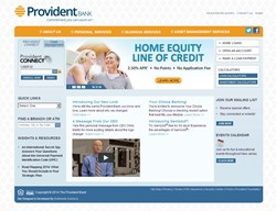 Provident New Website