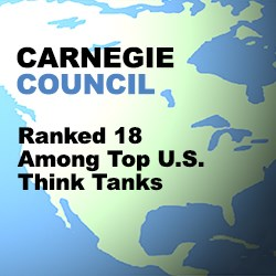 Carnegie Council Ranked 18 in List of Top Think Tanks in USA