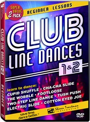 Club Line Dances 1&2: Beginner Line Dancing Lessons on Video/DVD