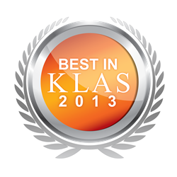 2013 Best in KLAS Logo