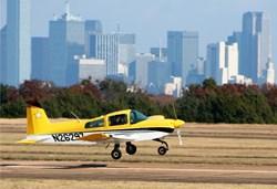 Cheetah landing in Dallas