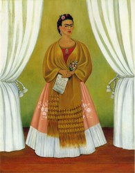 Reproductions of artwork by Frida Kahlo will be on display at Salt Lake Community College