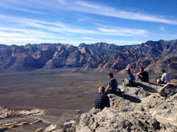 Rooms with a view: Hiking in Red Rock, NV