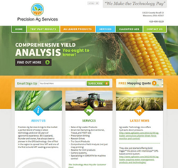 Precision Ag | Custom Website | Artonic Web