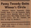 Newspaper clipping from 1972 Denver Post.
