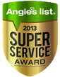 Batavia's Confident Aire, Inc., HVAC Company Earns Honorable Angie's List Super Service Award for Seventh Straight Year