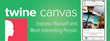Introducing Twine Canvas, the personality-first dating app that allows people to express themselves by creating collage to meet interesting people.