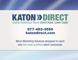 Katon Direct Quality Healthcare Talent. Direct Hires. Lower Costs.