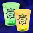 Mardi Gras Flashing Shot Glasses