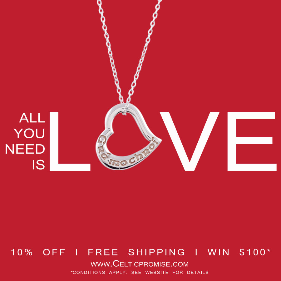 Online Irish Jewelry Store Plans Promotions Ahead Of Valentine S Day